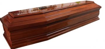 Modello Elegante a due strisce / dark / lacquered